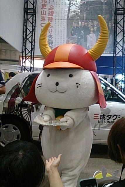 ひこにゃん今年もツーリズムEXPOジャパンに登場(土曜13時・前半)