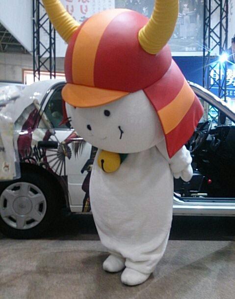 ひこにゃん、今年もツーリズムEXPOジャパンに登場(土曜13時・2)