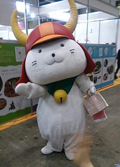ひこにゃん、今年もツーリズムEXPOジャパンに登場(土曜13時・4)